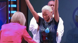 Kaya Jones baptized in Paula White's church