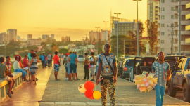 people in Maputo, Mozambique