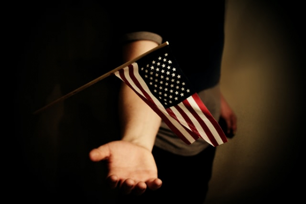 pledge of loyalty to America and the American flag