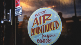 air conditioned open cooling church center