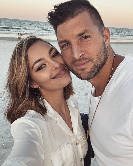 Demi-Leigh Tebow with husband Tim