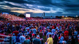 Photo of President Donald Trump's rally in Sarasota, Florida