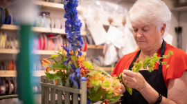 Arlene's Flowers florist Barronelle Stutzman
