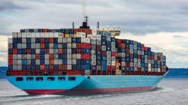freighter / cargo ship taking precious cargo to other places via the sea