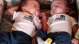 Sen. Julia Coleman's twins