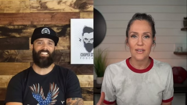 John Cooper and Alisa Childers in a podcast mashup
