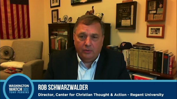 Rob Schwarzwalder, the Director of the Center for Christian Thought & Action at Regent University
