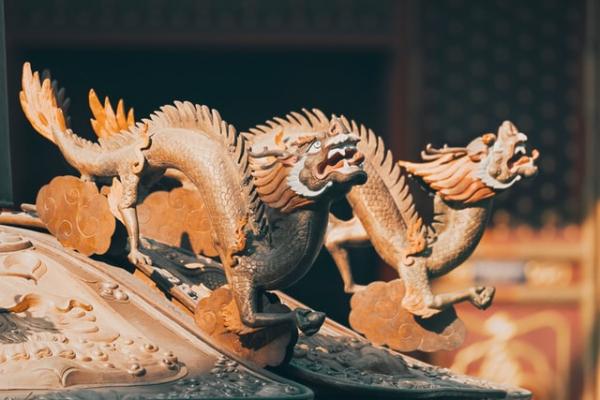 beijing china dragon figures