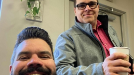 Pastors Robby Gallaty and Chris Swain