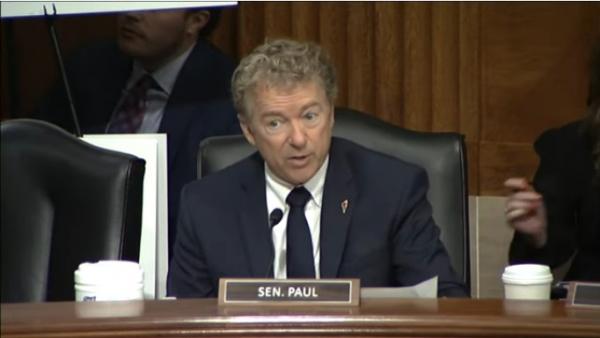 Kentucky senator Rand Paul