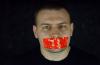 silenced muzzled shut up silent