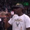 Milwaukee Bucks guard Jrue Holiday