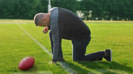high school football coach Joseph Kennedy