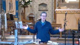 Church of England Vicar Rev. Charlie Boyle