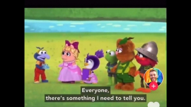 Muppets Babies promoting LGBT ideologies