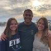 Wade Morris and daughters