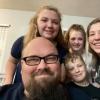 Jason Weaver and family