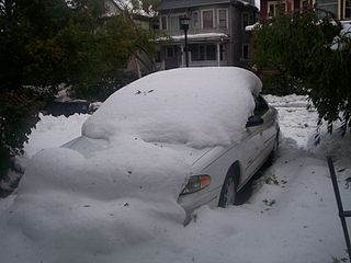 Buffalo snow storm in 2006