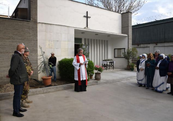 Fr. Giovanni Scalese's arrival in Rome