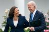 President Joe Biden and Kamala Harris