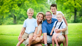 Raina Simpson and family