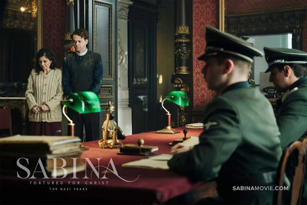 """Sabina: Tortured for Christ, the Nazi Years"""