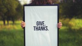 generosity and gratitude
