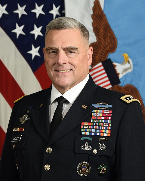 United States Joint Chiefs of Staff Chairman General Mark Milley