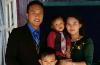Thantlang Centennial Baptist Church Pastor Cung Biak Hum and family