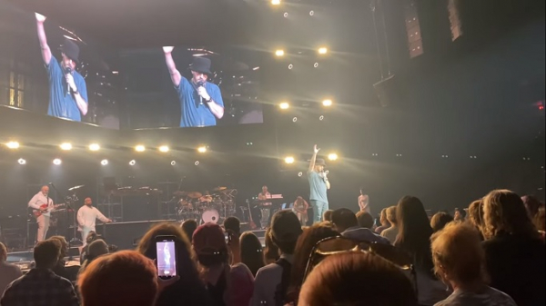 TobyMac speaking about his son's death