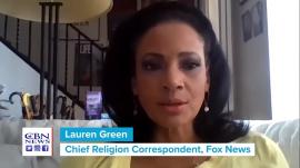 Fox News' Chief Religious Correspondent Lauren Green