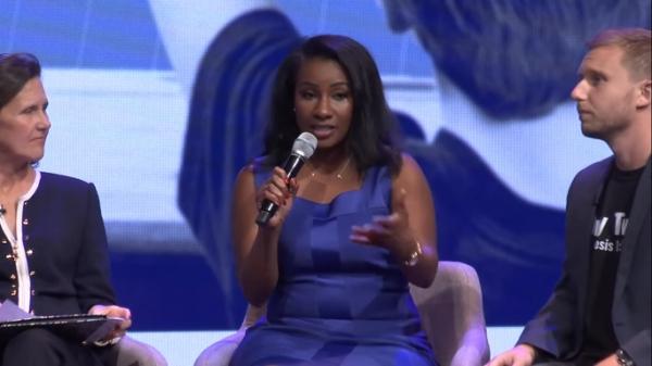 Moms for Liberty spokeswoman Quisha King