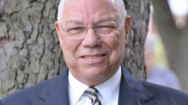 Former U. S. Secretary of State Colin Powell
