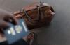 passport and traveling bag
